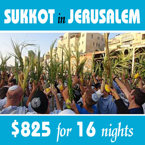 Sukkot for Jerusalem